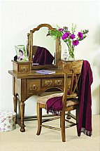 Baker Furniture - Flagstone Dressing Table with Mirror