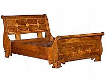 Baker Furniture - Flagstone Sleigh Bedstead