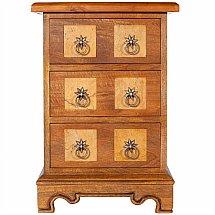 Baker Furniture - Flagstone 3 Drawer Bedside