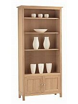 3151/Marshalls-Collection-Hanbury-Large-Bookcase-with-Cupboard