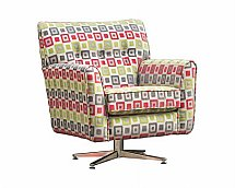 Alstons Upholstery - Jefferson Swivel Chair