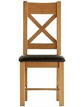 Barrow Clark - Oakleaf Cross Back Chair