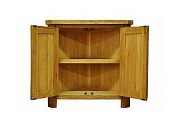 Barrow Clark - Hamilton Oak Corner Cabinet