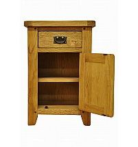 Barrow Clark - Hamilton Oak Small Cupboard with Drawer