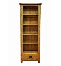 Barrow Clark - Hamilton Oak Large Narrow Bookcase