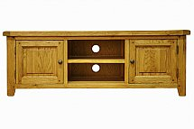 Barrow Clark - Hamilton Oak Large TV Unit