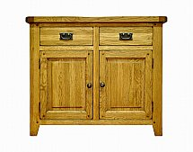 Barrow Clark - Hamilton Oak 2 Door 2 Drawer Sideboard
