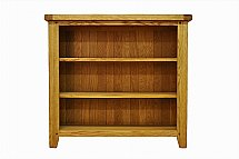 Barrow Clark - Hamilton Oak Small Wide Bookcase