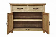 Barrow Clark - Devon Oak 2 Door Sideboard