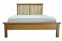 Barrow Clark - Devon Oak 5 Ft Bedstead