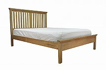 Barrow Clark - Devon Oak 4 Ft 6in Bedstead