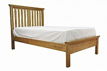 Barrow Clark - Devon Oak 3Ft Bedstead