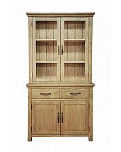 Barrow Clark - Devon Oak Display Cabinet