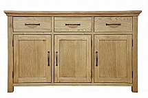 Barrow Clark - Devon Oak 3 Door Sideboard