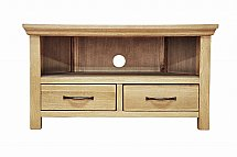 Barrow Clark - Devon Oak Corner TV Unit