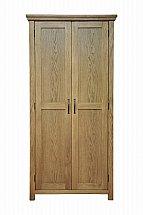 Barrow Clark - Devon Oak Full Hanging Wardrobe