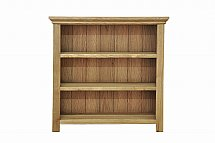 Barrow Clark - Devon Oak Small Wide Bookcase