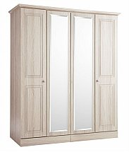Barrow Clark - Madrid 4 Door Wardrobe