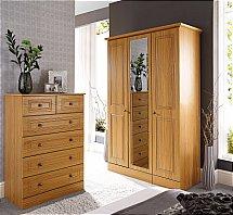 Barrow Clark - Madrid Warm Oak Bedroom
