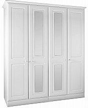 Barrow Clark - Shirwell Tall 4 Door Wardrobe