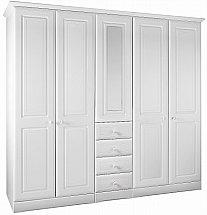 Barrow Clark - Shirwell Tall 5 Door Wardrobe