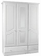 Barrow Clark - Shirwell 3 Door 2 Drawer Wardrobe