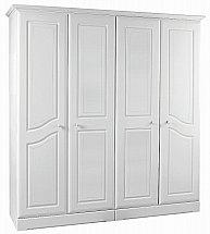 Barrow Clark - Shirwell 4 Door Wardrobe