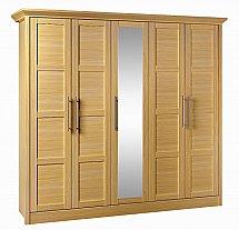 Barrow Clark - Vienna 5 Door Wardrobe