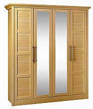Barrow Clark - Vienna 4 Door Wardrobe