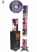 3946/BilliB-Purple-Range-Wall-Clock-plus-Lights