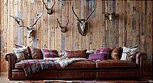 Alexander and James - Abraham Leather XL Maxi Sofa
