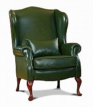 4356/Sherborne-Kensington-Leather-Wing-Chair