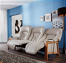 Cumuly - Themse 3 Seater Leather Recliner Sofa - 4798