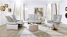 Cumuly - Brennand Leather Recliner Suite