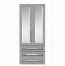 Kingstown - Alpha 2 Door 3 Drawer Mirror Robe
