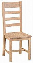 Barrow Clark - Dart Ladder Back Chair Wooden Seat