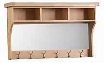 Barrow Clark - Dart Half Shelf Unit with Mirror