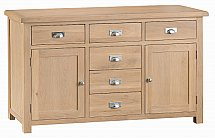 Barrow Clark - Dart 2 Door 6 Drawer Sideboard