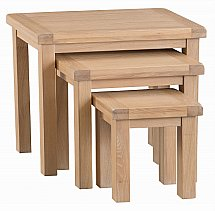 Barrow Clark - Dart Nest of 3 Tables
