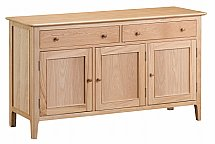 Barrow Clark - Grace Oak 3 Door Sideboard