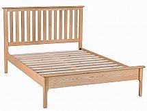Barrow Clark - Grace Oak 4Ft 6in Bed