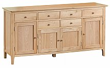 Barrow Clark - Grace Oak 4 Door Sideboard