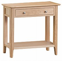 Barrow Clark - Grace Oak Console Table