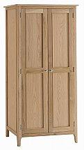 Barrow Clark - Grace Oak Full Hanging Wardrobe