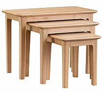 Barrow Clark - Grace Oak Nest of 3 Tables