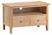 Barrow Clark - Grace Oak Standard TV Cabinet