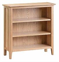 Barrow Clark - Grace Oak Small Wide Bookcase