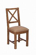 Barrow Clark - Loft Living Upholstered  Cross Back Dining Chair