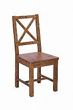 Barrow Clark - Loft Living Cross Back Dining Chair