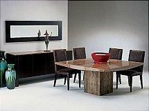 Stone International - Roma Marble Dining Table